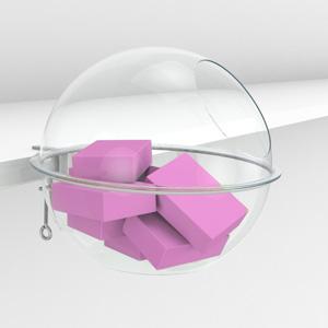 Сфера в качестве чаши накопителя для товара
