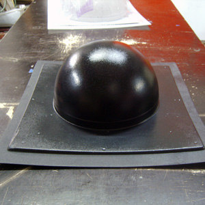 Формы для бетонных полусфер