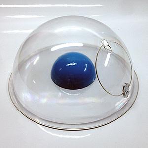 Лючок для пластиковой прозрачной полусферы из оргстекла