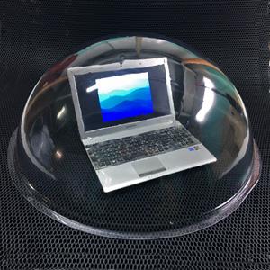Прозрачные большие полусферы Ø 840 мм