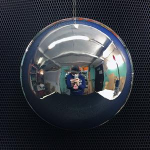 Хромирование полусфер, зеркальные полусферы