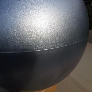 Большой пластиковый шар новогодний
