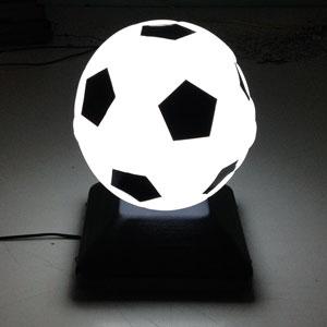 Светильник пластиковый шар сфера в виде футбольного мяча