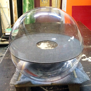 Диск внутри сферы или шара