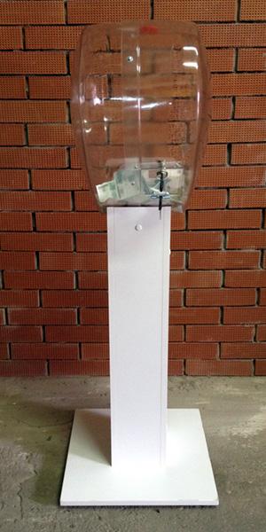 Ящик для сбора пожертвований и благотворительности напольный «НАП-08»