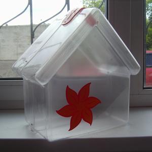 Ящик для сбора пожертвований и благотворительности настольный «НСТ-05»