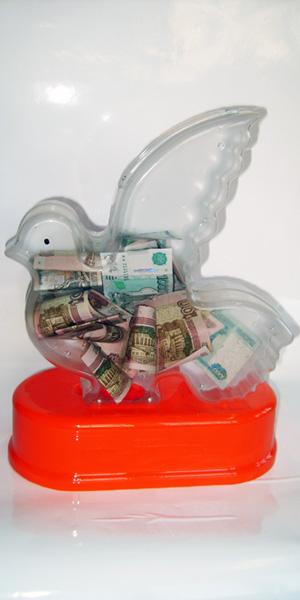 Ящик для сбора пожертвований и благотворительности настольный «НСТ-12»