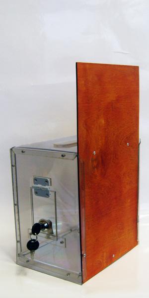 Ящик для сбора пожертвований и благотворительности настольный «НСТ-16»