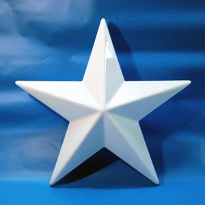 Пластиковая звезда